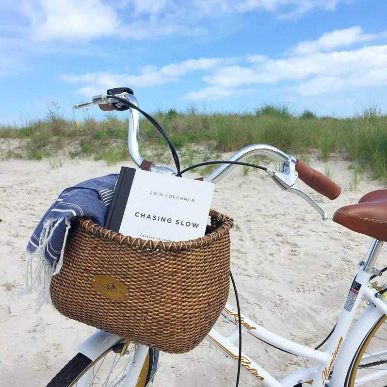 Book in Bike Basket